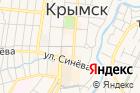 Бюро медико-социальной экспертизы поКраснодарскому краюг. Крымск на карте
