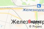 Парикмахерская вЖелезнодорожном, наОктябрьской улице на карте