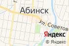 Территориальная избирательная комиссия Абинского района на карте