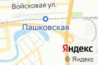 Баня вРК Любимый на карте