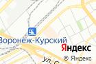 Хутор Калина Красная на карте