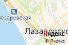 Салон оптики вЛазаревском внутригородском районе на карте