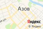 Азовская автомобильная школа ДОСААФ России на карте