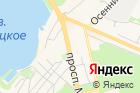 Левобережный на карте