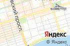 Городская поликлиника №10 на карте