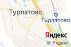 Продуктовый магазин натерритории Турлатово, 13а на карте