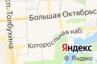 Городской парк культуры иотдыха на карте
