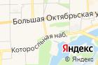 Общежитие наулице Чайковского на карте