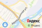 Магазин автозапчастей наАвиационной улице, 34 на карте