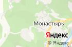 Монастырская изба на карте