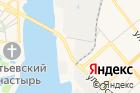 Костромские бани на карте