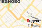 Территориальная избирательная комиссия Советского районаг. Иваново на карте