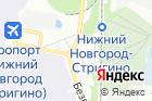 Гостиница Омега на карте