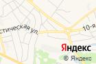 Автостоянка вгороде Бор наКоммунистической улице на карте
