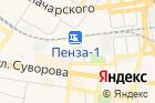 Куйбышевская железная дорога на карте