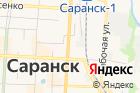Городская баня №1 на карте