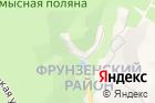 Октябрьское Ущелье на карте