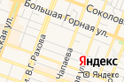 Автостоянка наулице Зарубина на карте