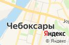 Волжская деревня на карте