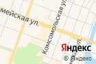 Мастерская поремонту одежды наКомсомольской улице на карте