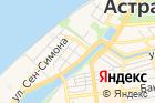Строитель Астрахани на карте