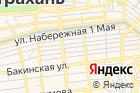 АГМУ, Астраханский государственный медицинский университет на карте