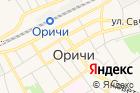 Оричевского района на карте