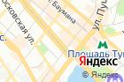 Баня комбината Здоровье на карте
