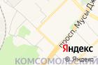 Городская служба недвижимости на карте