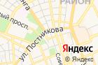 Городской центр градостроительства, МБУ на карте