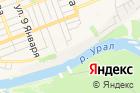 Оренбурга на карте