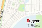 Спутник на карте