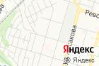 Сауна наулице Красина на карте