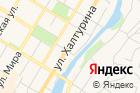 Городской оздоровительный комплекс на карте