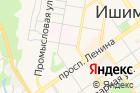 Ишимбайский банно-прачечный комбинат на карте
