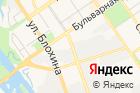 Городской союз садоводов на карте