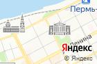 Центральная на карте