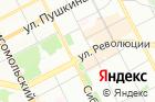Дэфо-Пермь на карте