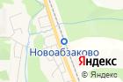 Новоабзаково на карте