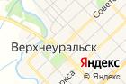 Верхнеуральского района на карте