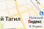 Свердловская областная автошкола на карте