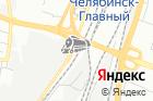 Южно-Уральской железной дороги на карте