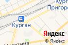 Профилакторийст. Курган, Дирекция социальной сферы Южно-Уральской железной дороги на карте