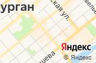 Курганская больница №5 на карте