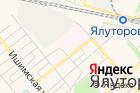 Главное бюро Медико-Социальной Экспертизы поТюменской области на карте