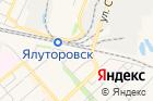 Железнодорожная баня на карте
