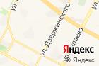 Оптика наулице Дзержинского на карте