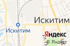 Электронный город на карте