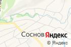 Сосновский коммунальный участок на карте