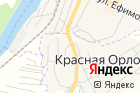 Орловский на карте